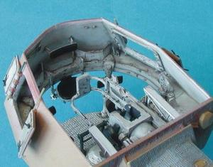 PzKpfw IV - interior set for TAM