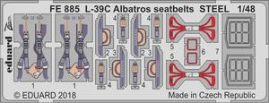L-39C Albatros seatbelts STEEL 1/48