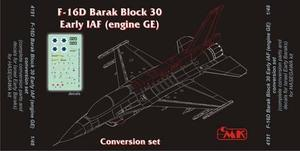 F-16D Barak Block 30 Early IAF(engine GE) con