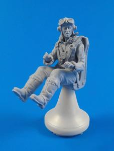 British Tempest Pilot sitting, for Special Hobby kit  - 1