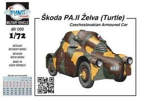 "Škoda PA.II ""Turtle"" - Czechoslovak armoured"