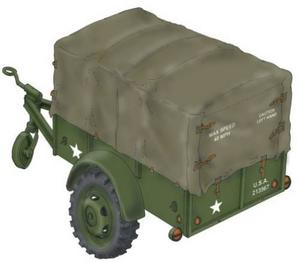 "WW.II US Cargo Trailer ""Ben Hur"""