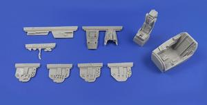 BAC Lightning F2/F2A/F3/F6 – Cockpit Set 1/48 for Eduard/Airfix kit  - 1