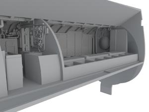 U-Boot IX Front Crew Quarters for REV