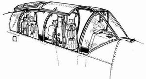 OV-10A - interior set for ACA