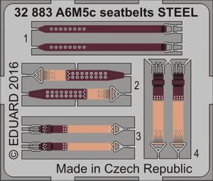 A6M5c seatbelts STEEL