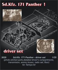 Pz.V Panther - driver's set for TAM
