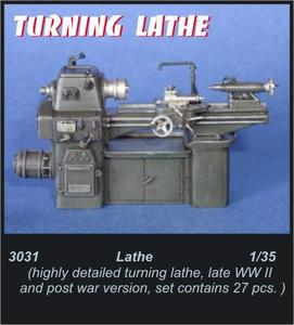 Turning lathe