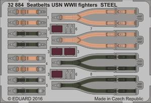 Seatbelts USN WWII fighters STEEL