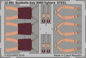 Seatbelts Italy WWII fighters STEEL