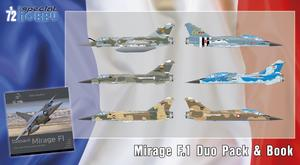 Mirage F.1 Duo Pack & Book  - 1