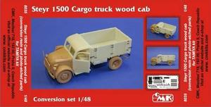 Steyr 1500 Cargo Truck wood cab.for TAM