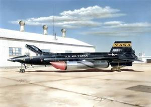 "X-15A-2 ""with Ground Dolly"""