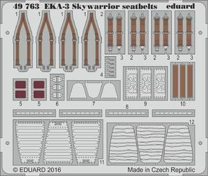 EKA-3 Skywarrior seatbelts