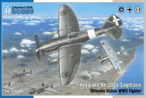 Reggiane Re.2005 Sagittario 'Ultimate Italian WWII Fighter'  - 1