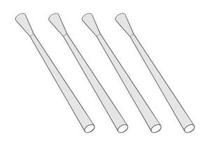2cm Flakvierling 38 Metal barrel (4pcs)