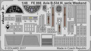 Avia B-534 III.serie Weekend  1/48