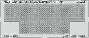 M551 Sheridan front anti-RPG wire net  1/35