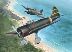 "ki-27 Otsu Nate ""Over Malaya and.. 1/32"
