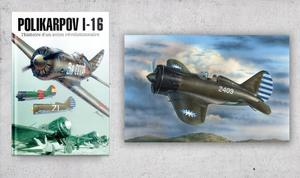 "Polikarpov I-16 ""Chinese & Japanese""  & Book Polikarpov I-16 The History Of A Revolutionary Aircraft"