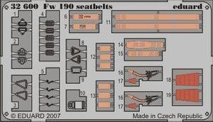 Fw 190 seatbelts S.A.