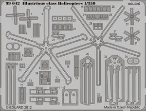 Illustrious class Helicopters  1/350