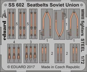 Seatbelts Soviet Union WW2 fighters STEEL 1/72