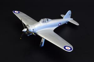 Gloster F.5/34 British Fighter Prototype  - 2