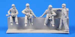 Soviet Tank Desant Troops WWII (4fig.)  - 2