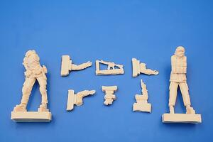 Iraq Warrior + MP Soldier 2 fig.  - 2