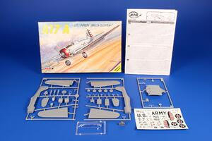 """A-17 A """"US attack bomber"""" 1/72  - 2"""