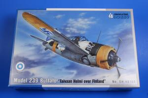 "Model 239 Buffalo ""Taivaan Helmi over Finland"" 1/48  - 2"