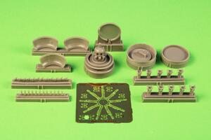 1/72 B-17G Engine Set (starboard side engine, 1pc) for Airfix kit  - 2