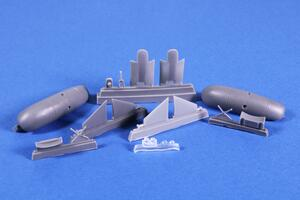 """Blenheim Mk. """"Finish AF 1.serie"""" 1/72 Fixed type Ski Undercarriage for Airfix  - 2"""
