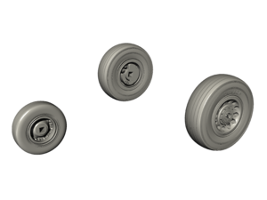 Sea Wixen – 1/48 Wheels Set for Airfix kit  - 2