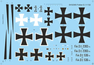 "Fokker D.II ""Black & White Tail"" 1/32  - 2"