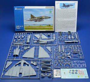"SAAB AJ 37 Viggen ""Attack Version"" 1/48 - Updated edition  - 2"