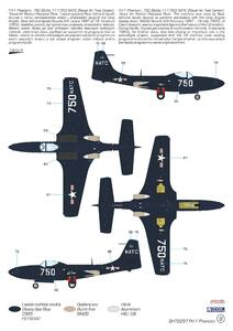 """FH-1 Phantom """"Demonstration Teams and Trainers"""" 1/72  - 2"""