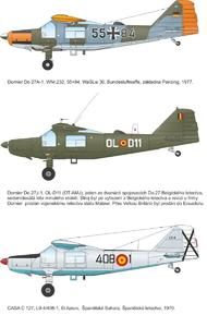"Dornier Do 27 ""German, Spanish and Belgian Service"" 1/72  - 2"