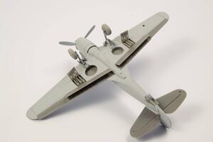 1/72 P-40 - Control Surfaces for Special Hobby kits  - 3