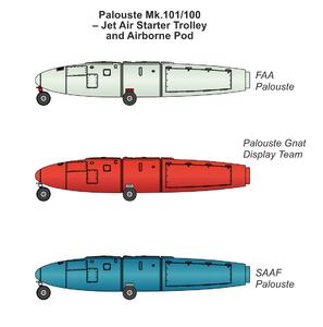 1/48 Palouste Mk.101/102 – Jet Air Starter Trolleys and Airborne Pod  - 3