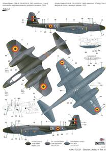 Gloster Meteor Mk.8 1/72  - 3
