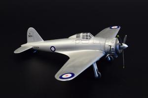 Gloster F.5/34 British Fighter Prototype  - 3