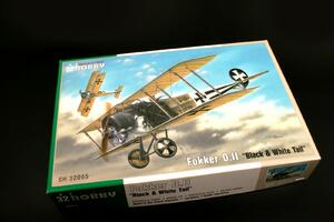 "Fokker D.II ""Black & White Tail"" 1/32  - 3"