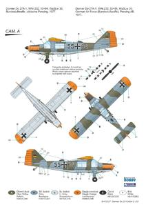 "Dornier Do 27 ""German, Spanish and Belgian Service"" 1/72  - 3"
