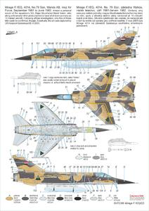 Mirage F.1 EQ/ED 1/72  - 3