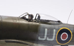 British Tempest Pilot sitting, for Special Hobby kit  - 3