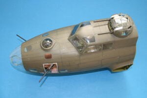 B17 F Memphis Belle - nose only 1/18  - 4