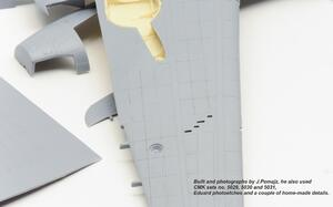 P-39 Airacobra undercarriage set for Sp.Hobby  - 4