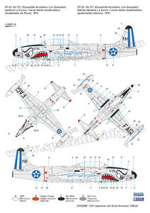 T-33  'Japanese and South American T-Birds'  - 4